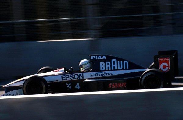 Stefano Modena (ITA) Tyrrell 020, 4th place. United States Grand Prix, Phoenix, 10 March 1991