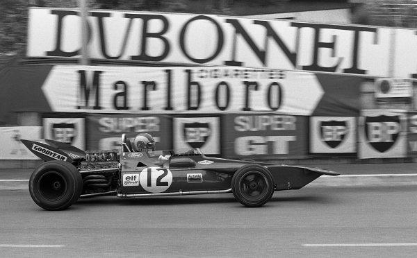 Francois Cevert (FRA) Tyrrell 002. Monaco Grand Prix, Monte-Carlo, Monaco, 23 May 1971.
