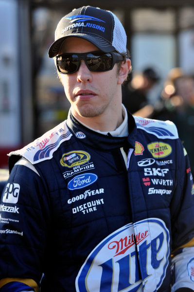 9-10 January 2014, Daytona Beach, Florida, USA Brad Keselowski ©2014, Nigel Kinrade LAT Photo USA