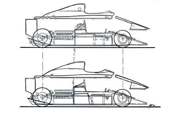 Ferrari F1-90 (641) 1990 bodywork