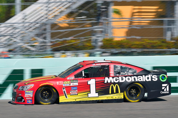 Monster Energy NASCAR Cup Series Ford EcoBoost 400 Homestead-Miami Speedway, Homestead, FL USA Saturday 18 November 2017 Jamie McMurray, Chip Ganassi Racing, McDonald's Chevrolet SS World Copyright: Nigel Kinrade LAT Images