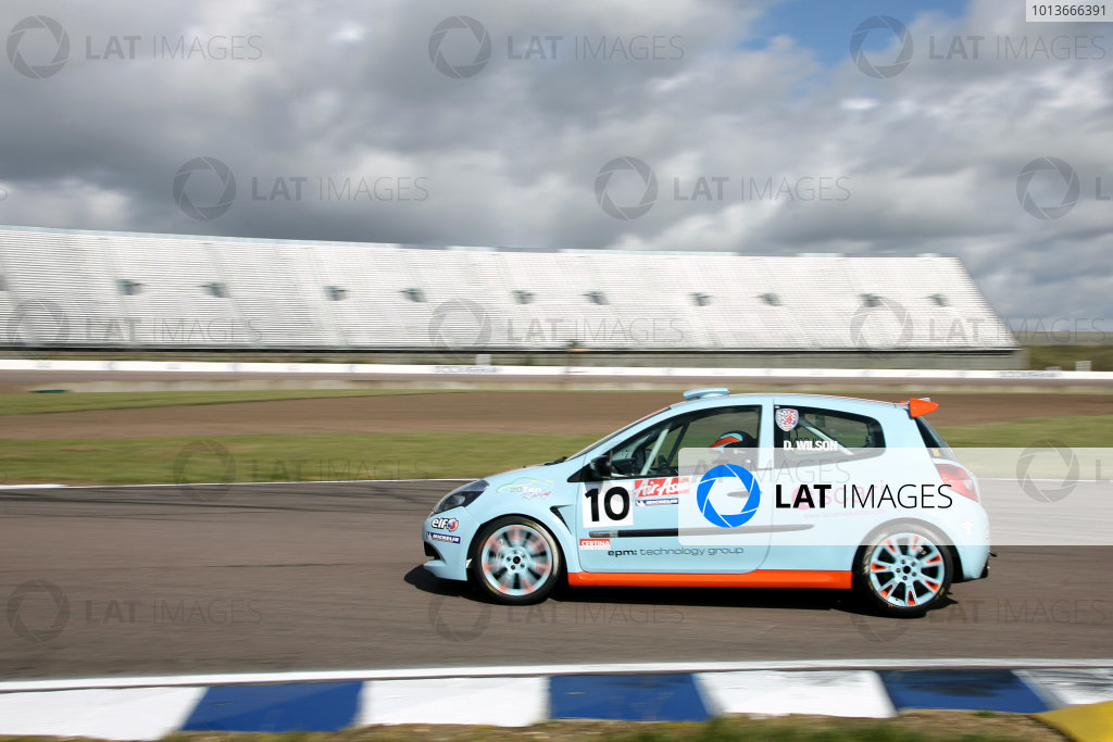 2011 Renault Clio Cup,