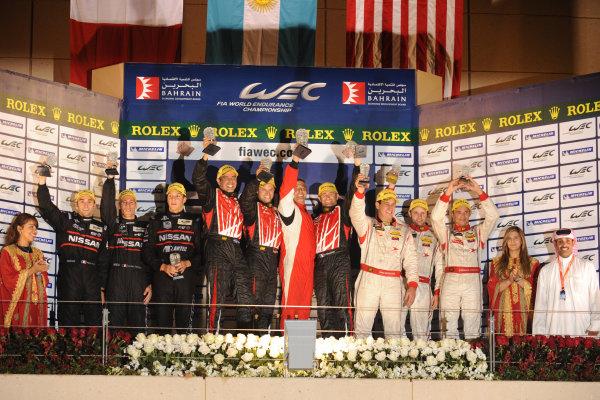 Bahrain, 27th-29th September 2012,P2 PodiumWorld copyright: Ebrey/LAT Photographic