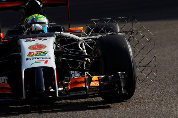 Yas Marina Circuit, Abu Dhabi, United Arab Emirates. Wednesday 26 November 2014. Spike Goddard, Force India VJM07 Mercedes.  World Copyright: Sam Bloxham/LAT Photographic. ref: Digital Image _G7C8692