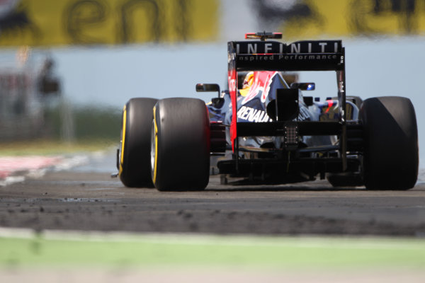Hungaroring, Budapest, Hungary29th July 2012Sebastian Vettel, Red Bull RB8 Renault. World Copyright:Andy Hone/LAT Photographicref: Digital Image HONY9920