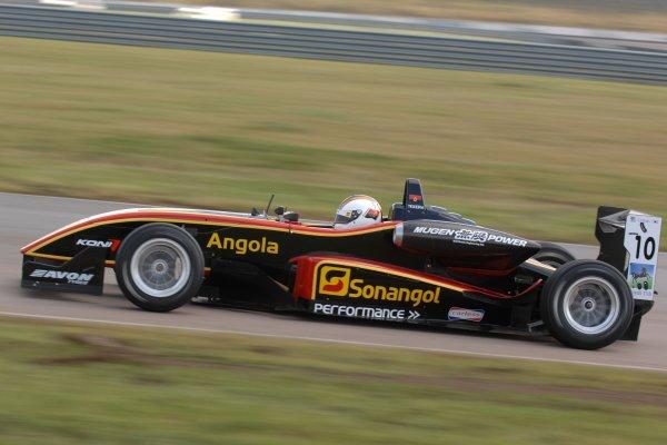 2007 British Formula Three Championship.Rockingham, England 29th and 30th September 2007.Ricardo Teixeira (ANG) Performance Racing Dallara Mugen HondaWorld Copyright: Jakob Ebrey/LAT