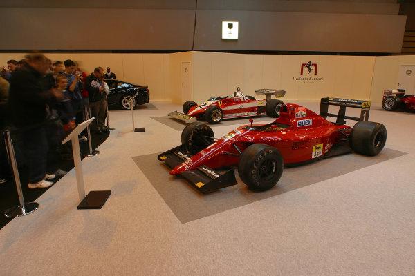 2004 Autosport International.Galleria Ferrari.NEC, Birmingham, England.8-11th January 2004.World Copyright: Spinney/LAT Photographic.Ref.:Digital Image Only.