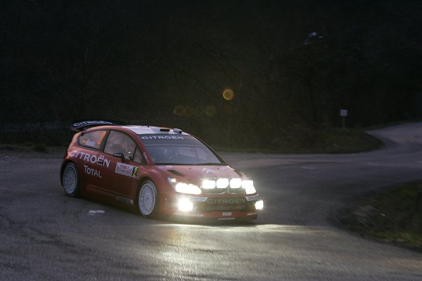 2007 FIA World Rally ChampionshipRound 1Rallye Monte Carlo18th-21st January 2007Dani Sordo, Citroen, Action.Worldwide Copyright: McKlein/LAT