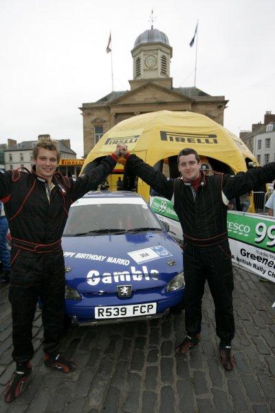 Mark GambleJim Clark Rally2006 British Rally ChampionshipKelso, ScotlandWorldwide copyright: Ebrey/LAT Photographic