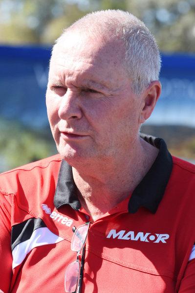 John Booth (GBR) Manor GP Team Principal at Formula One World Championship, Rd1, Australian Grand Prix, Preparations, Albert Park, Melbourne, Australia, Wednesday 11  March 2015.