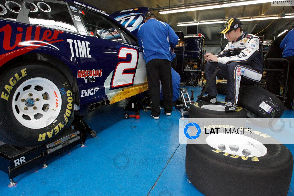 2013 NASCAR Charlotte Testing