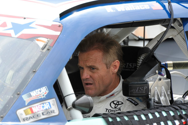 7-8 June, 2013, Newton, Iowa USA Kenny Wallace ©2013, Scott R LePage LAT Photo USA