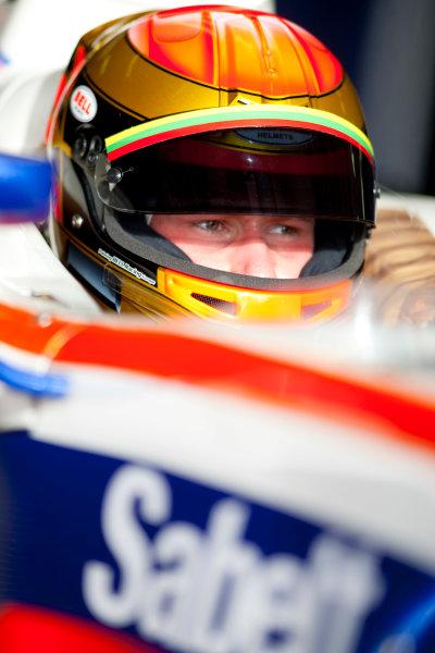 Thuesday 12th November 2009. Kazimeras Vasiliauskas (LTU, Trident Racing). Portrait.  World Copyright: Alastair Staley/GP2 Series Media Service.Ref: _O9T1615 jpg