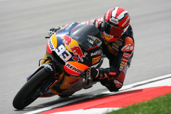 Marc Marquez Red Bull Ajo Motorsport Derbi 125cc