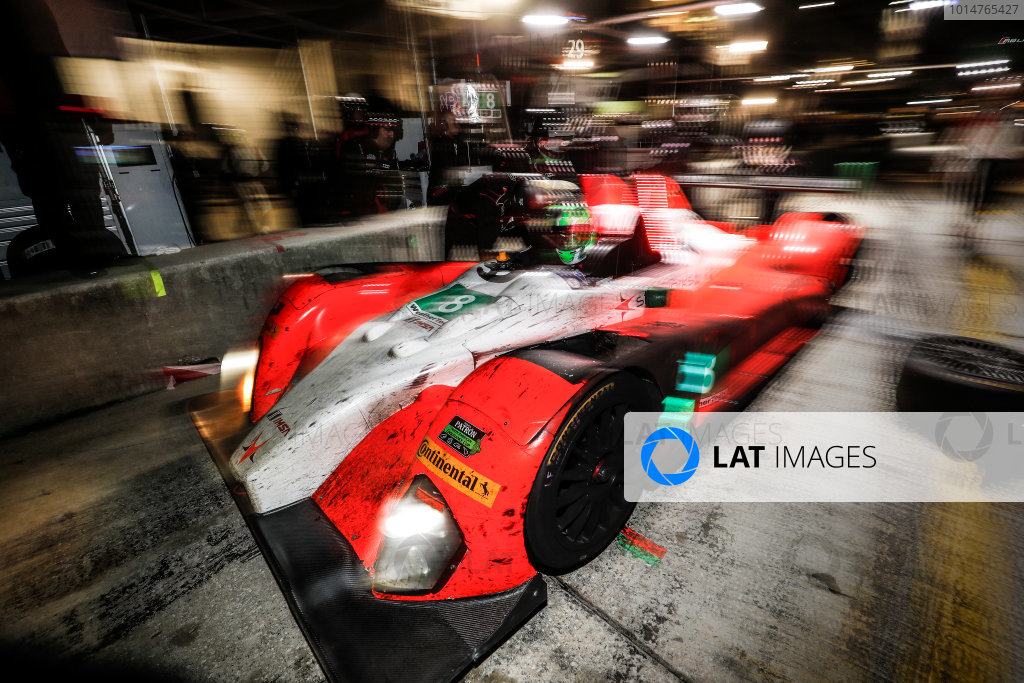 2017 IMSA WeatherTech SportsCar Championship Mobil 1 Twelve Hours of Sebring Sebring International Raceway, Sebring, FL USA Saturday 18 March 2017 8, ORECA, ORECA FLM09, PC, James Dayson pit stop World Copyright: Michael L. Levitt/LAT Images ref: Digital Image levitt_seb_0317-32028