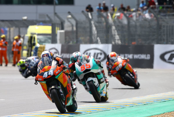 2017 Moto2 Championship - Round 5 Le Mans, France Sunday 21 May 2017 Miguel Oliveira, Red Bull KTM Ajo World Copyright: Gold & Goose Photography/LAT Images ref: Digital Image 671770