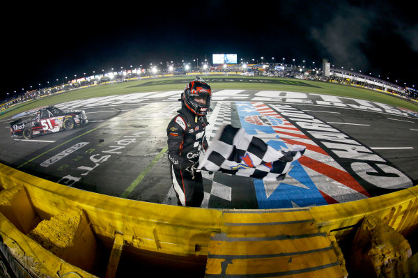 NASCAR Camping World Truck Series North Carolina Education Lottery 200 Charlotte Motor Speedway, Concord, NC USA Friday 19 May 2017 Kyle Busch, Cessna Toyota Tundra World Copyright: Matthew T. Thacker LAT Images ref: Digital Image 17CLT1mt1243