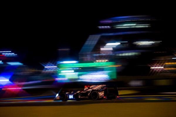 2016 Le Mans 24 Hours. Circuit de la Sarthe, Le Mans, France. Saturday 18 June 2016. SRT41 By Oak Racing / Morgan LMP2 - Nissan - Frederic Sausset (FRA), Christophe Tinseau (FRA), Jean-Bernard Bouvet (FRA).  World Copyright: Zak Mauger/LAT Photographic ref: Digital Image _79P8216