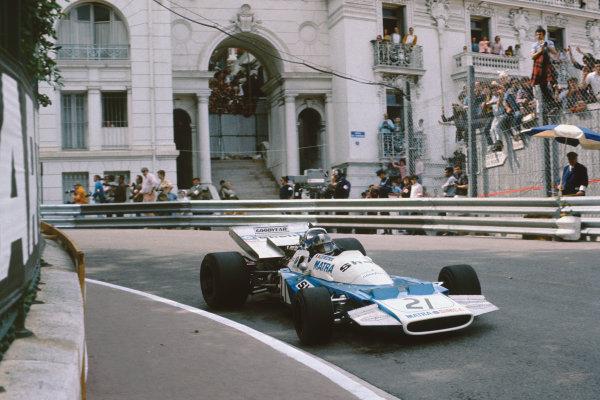 Monaco Grand Prix.  Monte Carlo, Monaco. 20-23rd May 1971.  Jean-Pierre Beltoise, Matra MS120B.  Ref: 71MON51. World Copyright: LAT Photographic