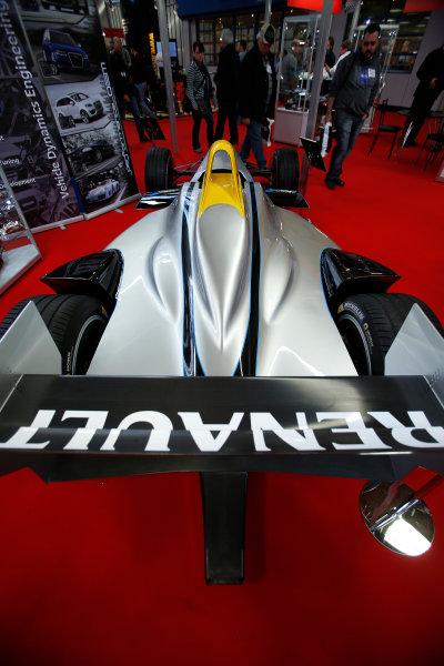Autosport International Show NEC, Birmingham.  Friday 10 January 2014. The new Formula E car. World Copyright:Sam Bloxham/LAT Photographic ref: Digital Image _SBL8261