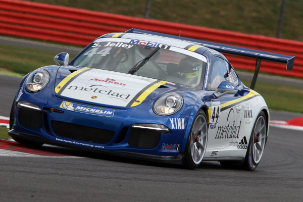 Porsche Supercup Round 4. Silverstone Circuit, Northamptonshire, England. Sunday 5th July 2015. Stephen Jelley (GBR)  World Copyright: Jakob Ebrey/LAT Photographic