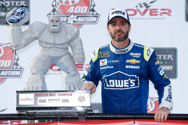 Monster Energy NASCAR Cup Series AAA 400 Drive for Autism Dover International Speedway, Dover, DE USA Sunday 4 June 2017 Jimmie Johnson, Hendrick Motorsports, Lowe's Chevrolet SS World Copyright: Matthew T. Thacker LAT Images ref: Digital Image 17DOV1mt1939