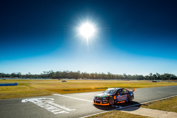 2017 Supercars Championship Round 8.  Ipswich SuperSprint, Queensland Raceway, Queensland, Australia. Friday 28th July to Sunday 30th July 2017. Alex Rullo, Lucas Dumbrell Motorsport Holden.  World Copyright: Daniel Kalisz/ LAT Images Ref: Digital Image 280717_VASCR8_DKIMG_7901.jpg