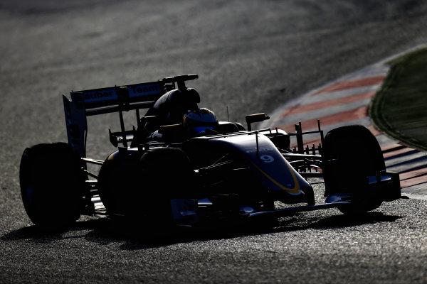Circuit de Catalunya, Barcelona, Spain Tuesday 23 February 2016. Marcus Ericsson, Sauber C35 Ferrari.  World Copyright: Glenn Dunbar/LAT Photographic ref: Digital Image _89P4577