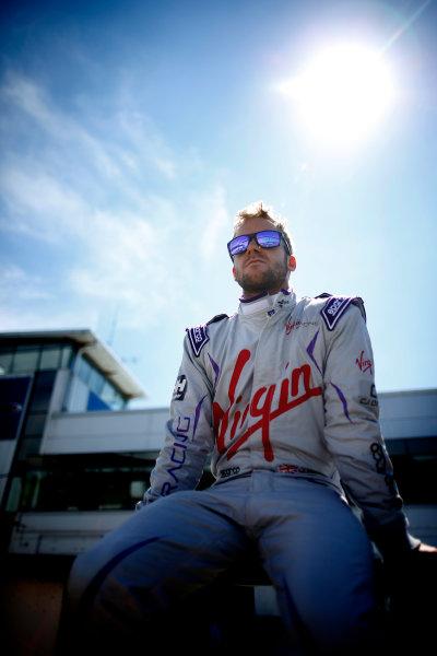 FIA Formula E Test Day, Donington Park, UK.  9th - 10th July 2014.  Sam Bird, Virgin Racing. Photo: Glenn Dunbar/FIA Formula E ref: Digital Image _W2Q9713