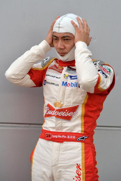 Ho-Pin Tung (CHN) Budweiser Team Absolute Racing. Porsche Carrera Cup Asia, Sepang, Malaysia, 28-30 March 2014.