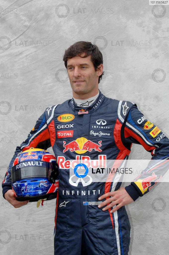 Albert Park, Melbourne, Australia24th March 2011.Mark Webber, Red Bull Racing RB7 Renault.World Copyright: John Townsend/LAT Photographicref: Digital Image JTX_6981