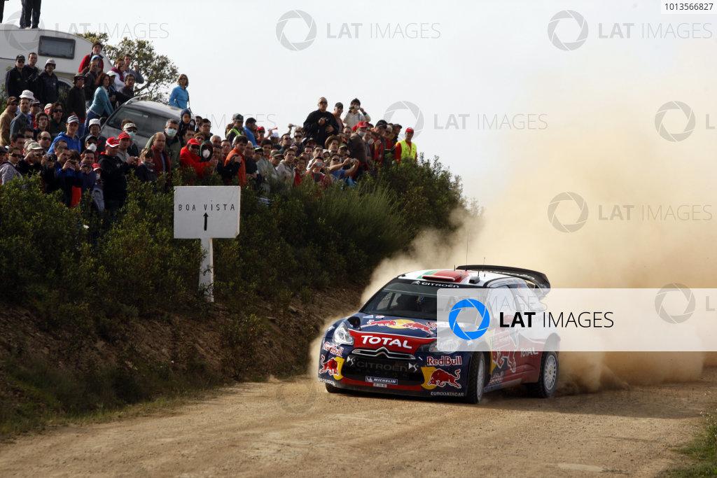 Round 03-Rally Portugal. 23th-27th March 2011, Sebastien Loeb, Citroen WRC, Action.Worldwide Copyright: McKlein/LAT