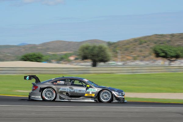 Round 9 - Valencia, Spain28th - 30th September 2012Ralf Schumacher (GER), Team HWA AMG Mercedes, AMG Mercedes C-CoupeWorld Copyright:  XPB Images / LAT Photographicref: Digital Image 2375327_HiRes