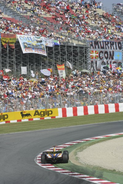 2007 GP2 Series. Round 2. Sunday RaceBarcelona, Spain. 13th May 2007. Javier Villa (ESP, Racing Engineering). Action. World Copyright: Andrew Ferraro/GP2 Series Media Sevice  ref: Digital Image ZP9O7128