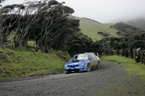 2007 FIA World Rally Champs. Round 11Rally New Zeland, 31st  August - 2nd  September 2007Toshi Arai, Subaru, actionWorld Copyright: McKlein/LAT