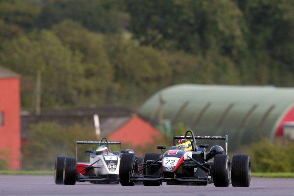 Race 2 - Stephen Jelley (GBR) Raikkonen Robertson Racing British Formula Three, Thruxton, England.23rd September 2006DIGITAL IMAGE