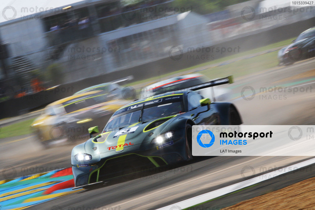 #3 Aston Martin Racing: Ross Gunn
