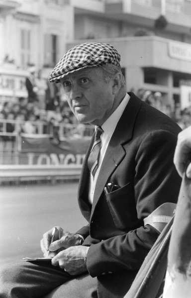 Race director Louis Chiron.