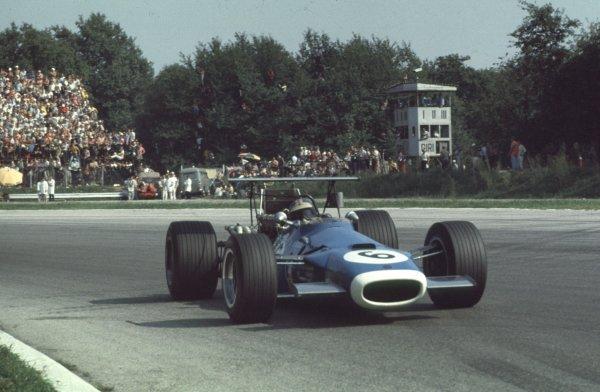 1968 Italian Grand Prix.Monza, Italy.6-8 September 1968.Jean-Pierre Beltoise (Matra MS11) 5th position.Ref-68 ITA 46.World Copyright - LAT Photographic