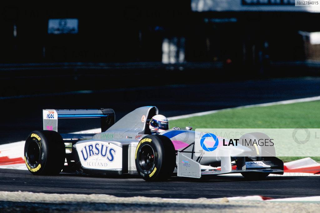 1994 Italian Grand Prix.Monza, Italy. 9-11 September 1994.Bertrand Gachot (Pacific PR01 Ilmor).Ref-94 ITA 26.World Copyright - LAT Photographic
