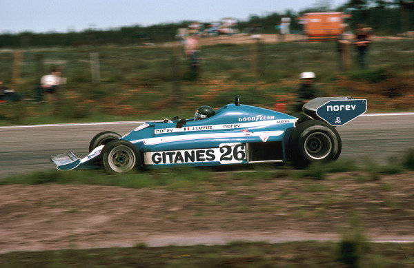 1977 Swedish Grand Prix.Anderstorp, Sweden.17-19 June 1977.Jacques Laffite (Ligier JS7 Matra) 1st position.Ref-77 SWE 03.World Copyright - LAT Photographic