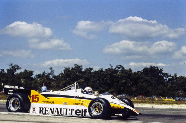 Alain Prost, Renault RE30B.