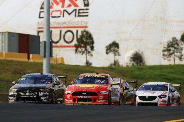 Fabian Coulthard, DJR Team Penske Ford and Jake Kostecki, Matt Stone Racing Holden