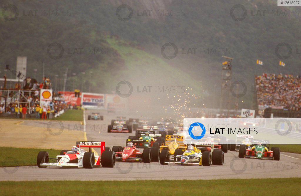 1988 Brazilian Grand Prix.