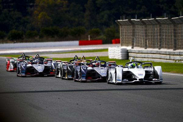 Felipe Massa (BRA), Venturi, EQ Silver Arrow 01, Robin Frijns (NLD), Envision Virgin Racing, Audi e-tron FE06 and Jean-Eric Vergne (FRA), DS Techeetah, DS E-Tense FE20