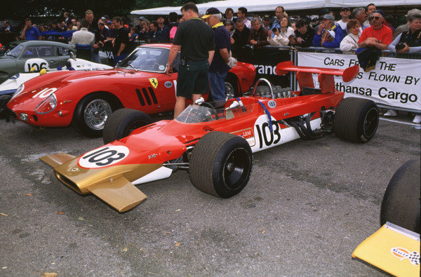 2000 Festival of Speed.Goodwood, England, Great Britain. 23-25 June 2000.The Lotus 63 in which driver John Dawson-Damer suffered a fatal accident on 24 June. World - LAT Photographic