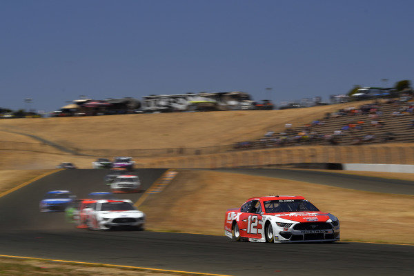 #12: Ryan Blaney, Team Penske, Ford Mustang DEX Imaging