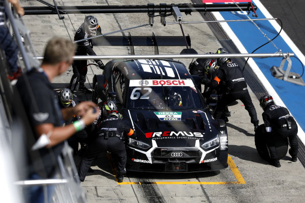 Ferdinand Habsburg, Audi Sport Team WRT, Audi RS 5 DTM, pitstop.