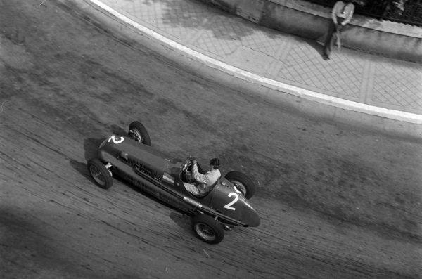 Clemar Bucci, Maserati 4CLT.