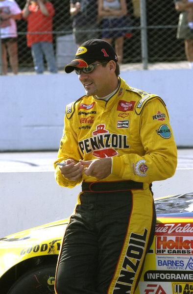 2002 NASCAR,New Hampshire Intl. Speedway,Sept 13-15, 2002 NASCAR, Loudon,NH . USA -Steve Park,Copyright-Robt LeSieur2002LAT Photographic